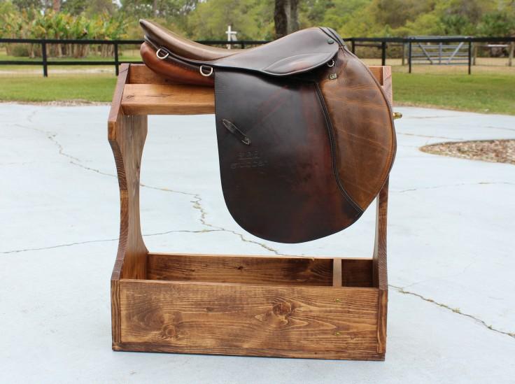 Saddle Stand with Saddle